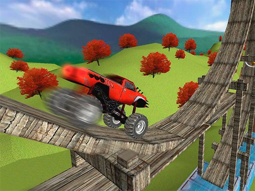 Play Monster Truck Stunt Madness Now!