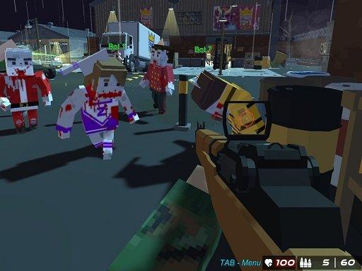 Play GunGame 24 Pixel Now!