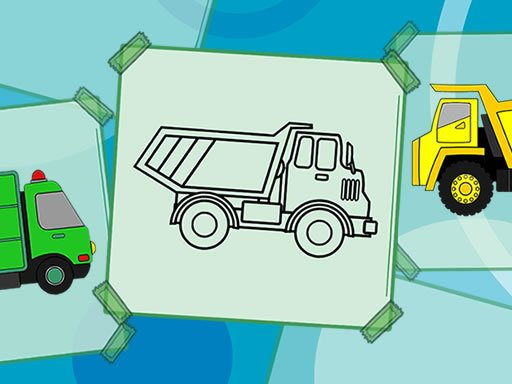 Play Truck Coloring Book Now!