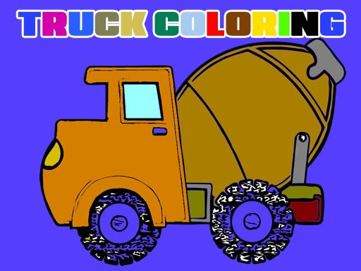 Play Trucks Coloring Book Now!