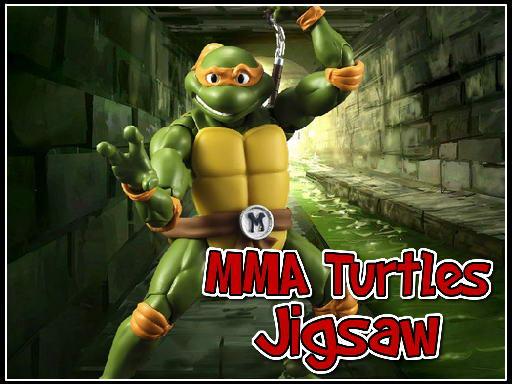 Play MMA Turtles Jigsaw Now!