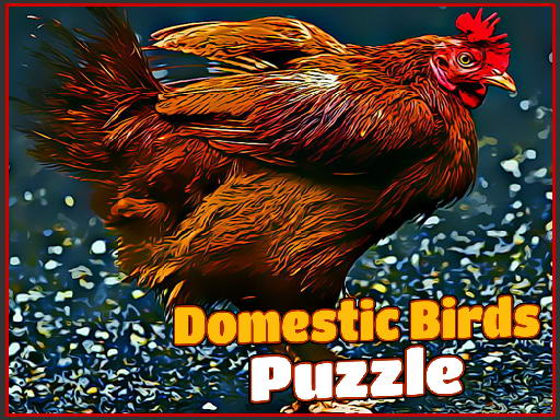 Play Domestic Birds Puzzle Now!