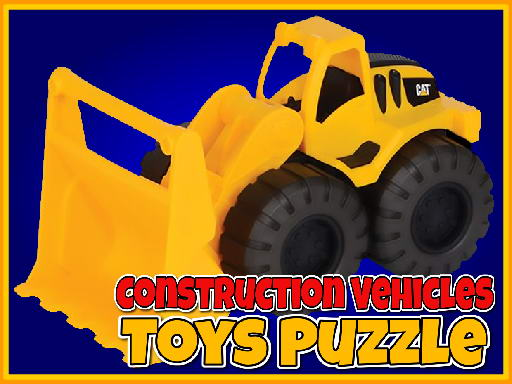 Play Construction Vehicles Toys Puzzle Now!