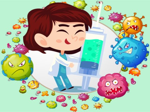 Play Virus Bubble Shooter Now!