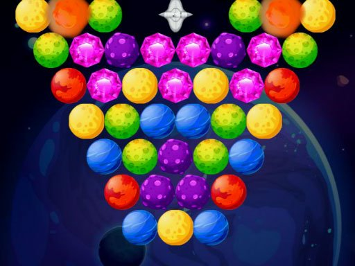 Play Bubble Shooter Planets Now!