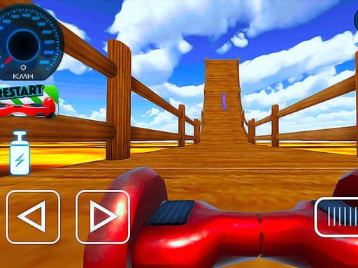 Play Hoverboard Stunts Hill Climb Now!