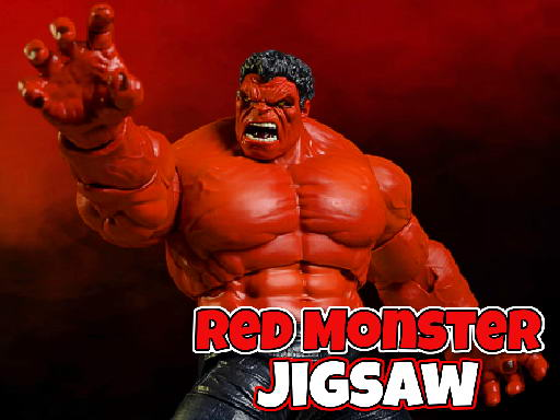 Play Red Monster Jigsaw Now!