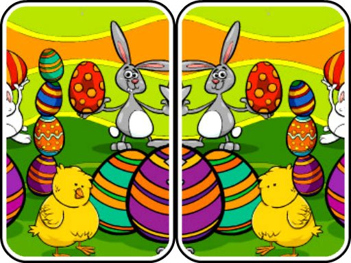 Play Easter Differences Now!