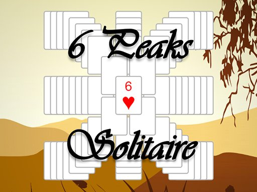 Play 6 Peaks Solitaire Now!