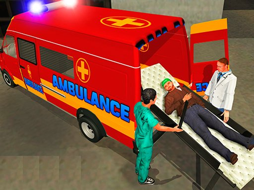 Play Ambulance Rescue Driver Simulator 2018 Now!