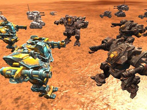 Play Mech Battle Simulator Now!