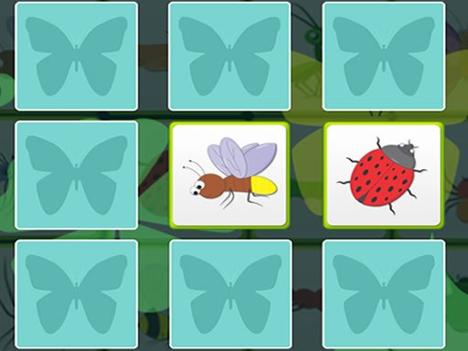 Play Kids Memory - Insects Now!