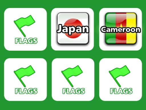 Play Memory with Flags Now!