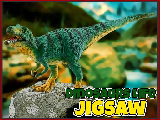 Play Dinosaurs Life Jigsaw Now!