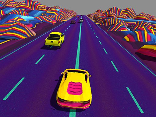 Play Neon Race Retro Drift Now!