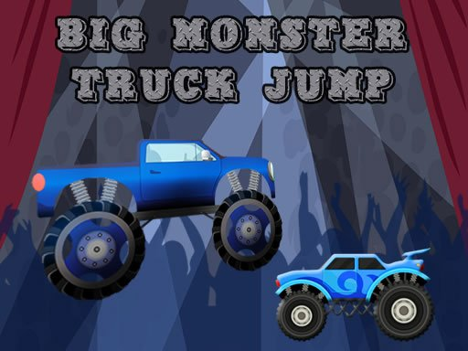 Play Big Monster Truck Jump Now!