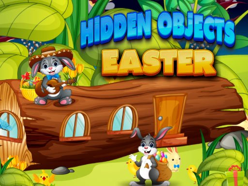 Play Hidden Object Easter Now!