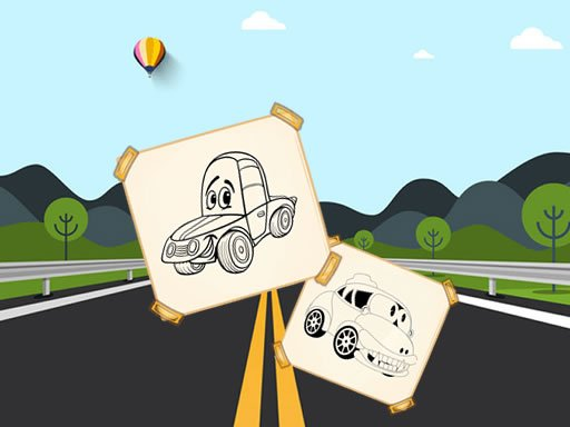 Play Funny Cars For Kids Coloring Now!