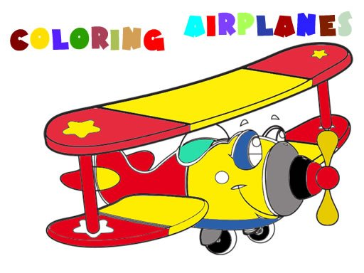 Play Coloring Book- Airplane V 2.0 Now!