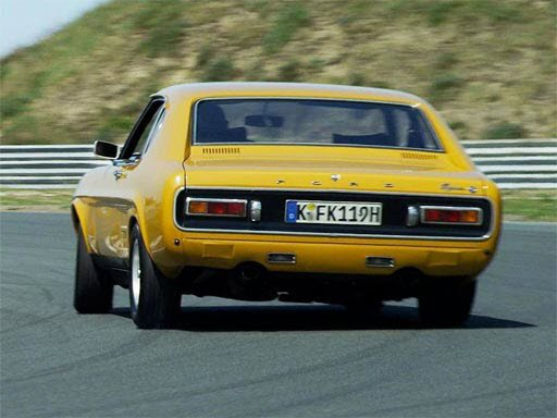 Play Ford Capri Puzzle Now!