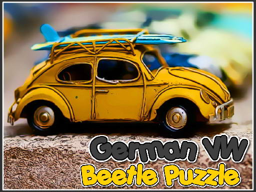 Play German VW Beetle Puzzle Now!