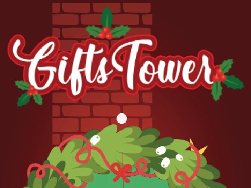 Play Gift tower Fall Now!