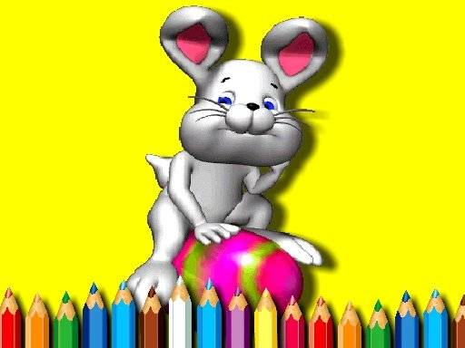 Play BTS Easter Coloring Book Now!