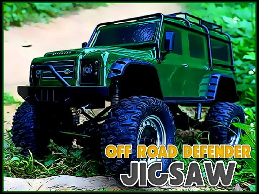 Play Off Road Defender Jigsaw Now!