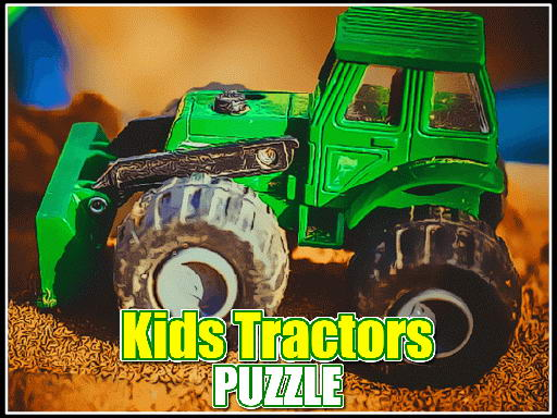 Play Kids Tractors Puzzle Now!