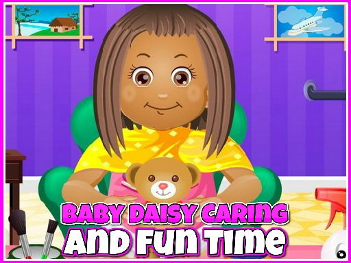Play Baby Daisy Caring and Fun Time Now!
