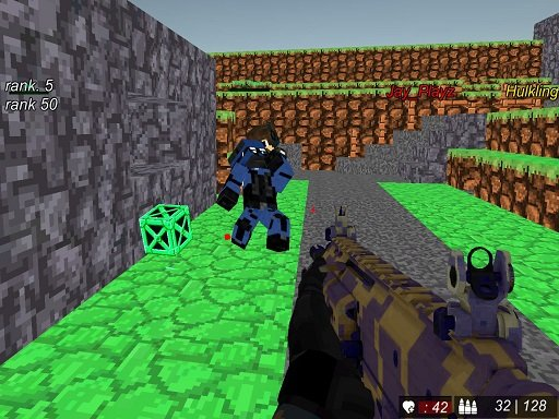 Play Blocky Wars Advanced Combat SWAT Multiplayer Now!