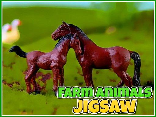 Play Farm Animals Jigsaw Now!
