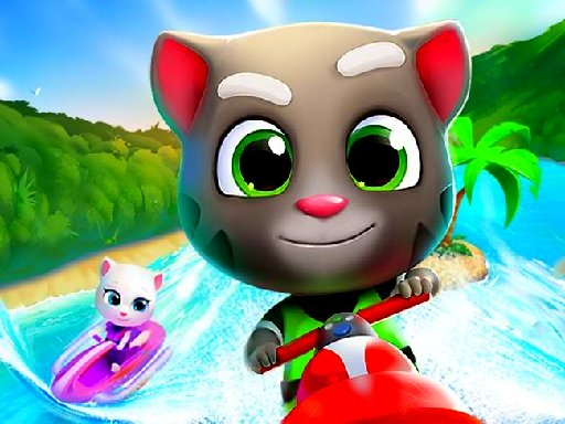 Play Cartoon Talking Tom Jigsaw Puzzle Now!