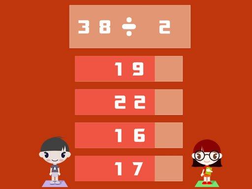 Play Math Multiple Choice Now!