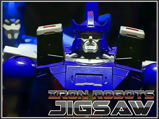 Play Iron Robots Jigsaw Now!