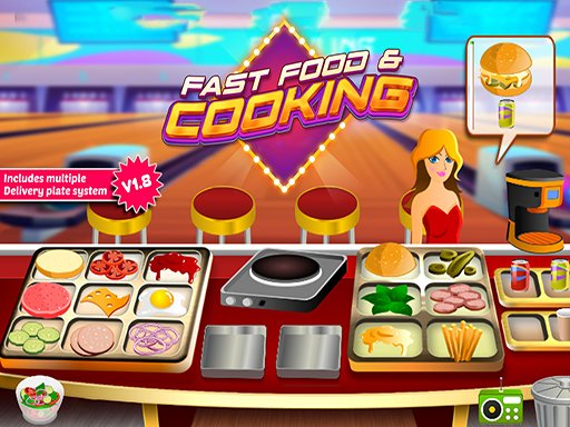 Play Fast Food Restaurant Now!