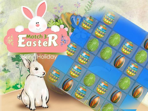 Play Easter Eggs Match 3 Deluxe Now!