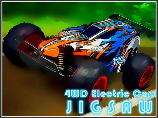 Play 4WD Electric Cars Jigsaw Now!