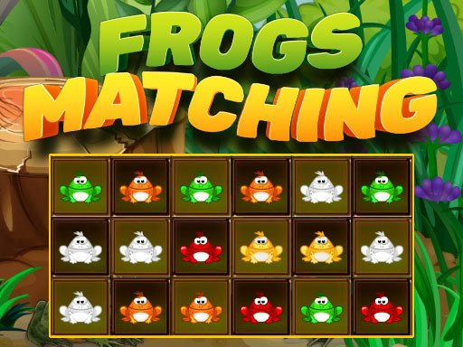 Play Frogs Matching Now!