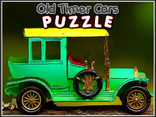 Play Old Timer Cars Puzzle Now!