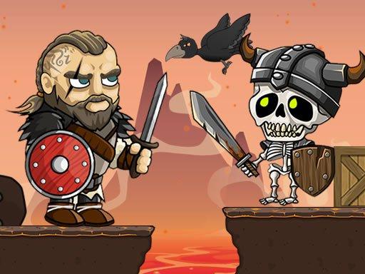 Play Vikings vs Skeletons Now!