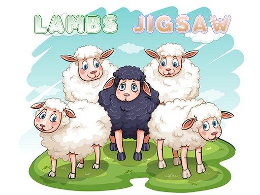 Play Lambs Jigsaw Now!