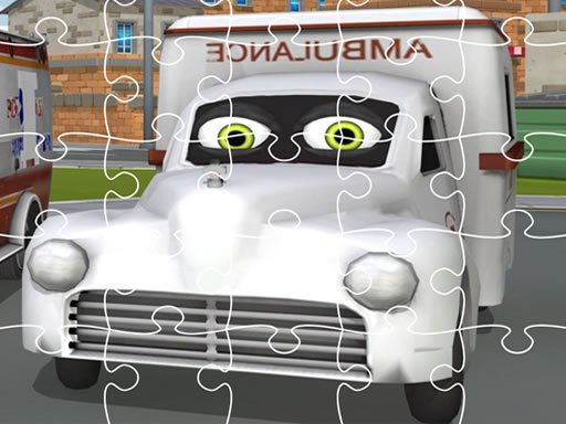 Play Ambulance Trucks Jigsaw Now!