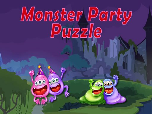Play Monster Party Puzzle Now!