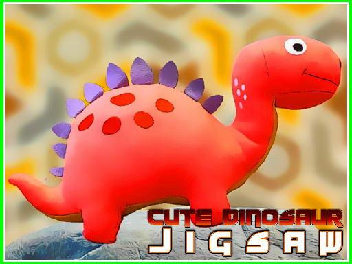 Play Cute Dinosaur Jigsaw Now!