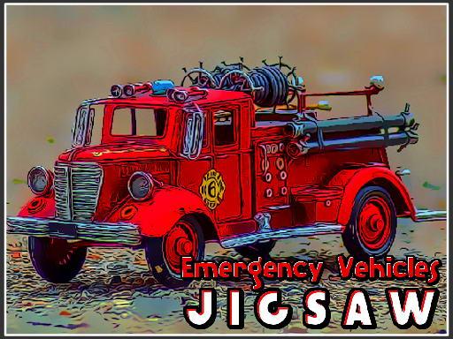 Play Emergency Vehicles Jigsaw Now!