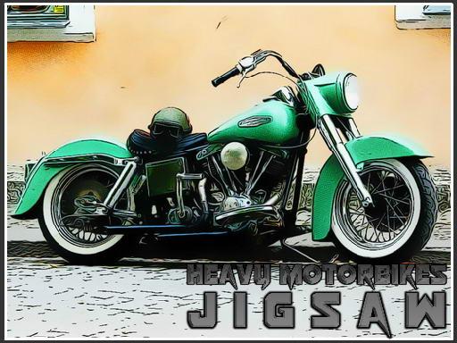 Play Heavy Motorbikes Jigsaw Now!