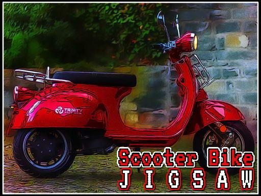 Play Scooter Bike Jigsaw Now!