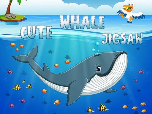 Play Cute Whale Jigsaw Now!