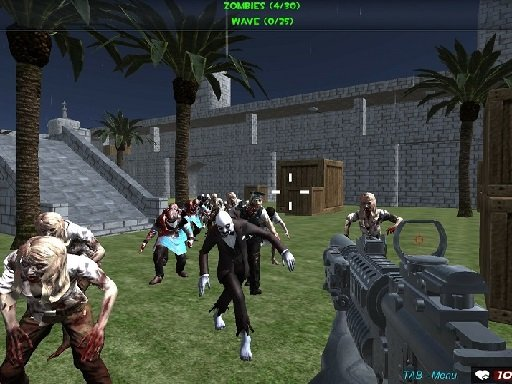 Play Shooting Zombie fps Xtreme Good vs Bad Boys Now!